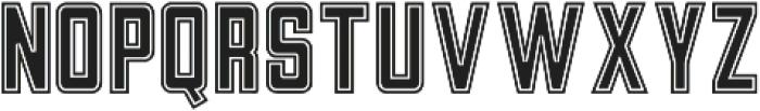 Athletica otf (400) Font UPPERCASE