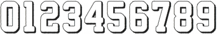Athletico 3D otf (400) Font OTHER CHARS