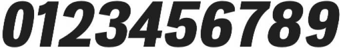 Atiga ExtraBold Italic otf (700) Font OTHER CHARS