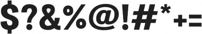 Atiga ExtraBold otf (700) Font OTHER CHARS