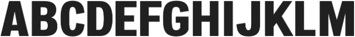 Atiga ExtraBold otf (700) Font UPPERCASE