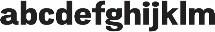 Atiga ExtraBold otf (700) Font LOWERCASE
