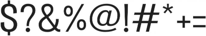 Atiga Medium otf (500) Font OTHER CHARS