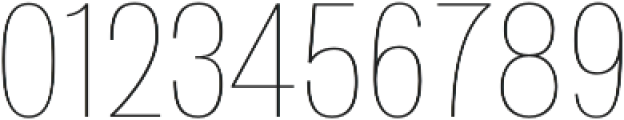 Atiga Thin otf (100) Font OTHER CHARS