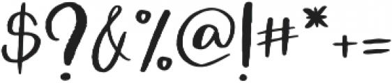 Atingle Regular otf (400) Font OTHER CHARS