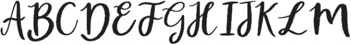 Atingle Regular otf (400) Font UPPERCASE