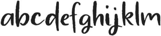 Atingle Regular otf (400) Font LOWERCASE