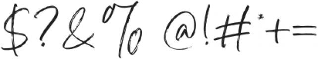 AtkinsonSignature otf (400) Font OTHER CHARS