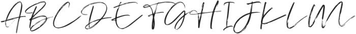 AtkinsonSignature otf (400) Font UPPERCASE