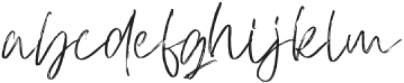 AtkinsonSignature otf (400) Font LOWERCASE