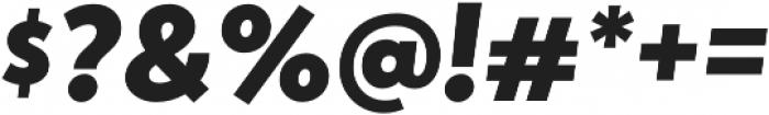 Atlan Black It otf (900) Font OTHER CHARS