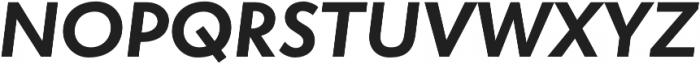 Atlan Bold It otf (700) Font UPPERCASE