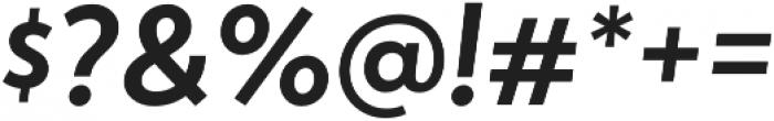 Atlan Semi Bold It otf (600) Font OTHER CHARS