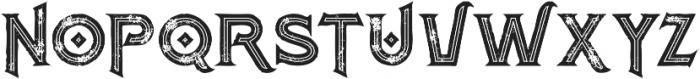Atlantis Bold Inline Grunge otf (700) Font UPPERCASE