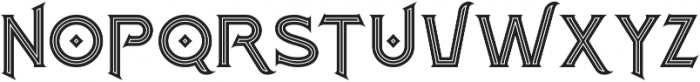 Atlantis Inline otf (400) Font UPPERCASE