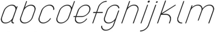 Atlas Italic otf (400) Font LOWERCASE