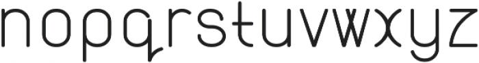 Atlas Semi Bold otf (600) Font LOWERCASE