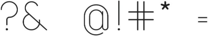 Atlas otf (400) Font OTHER CHARS