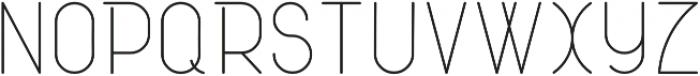 Atlas otf (400) Font UPPERCASE