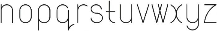 Atlas otf (400) Font LOWERCASE