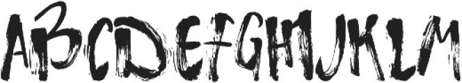 Atmosphere ttf (400) Font UPPERCASE