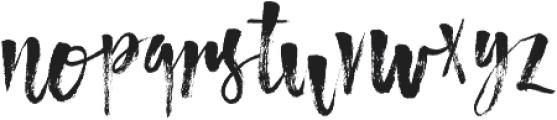 Atmosphere ttf (400) Font LOWERCASE
