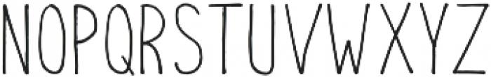 Atom otf (400) Font LOWERCASE