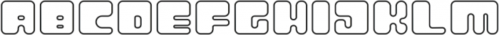 Atomic Blip Outline otf (400) Font UPPERCASE