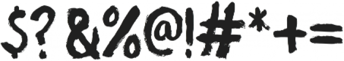 Atomic Dustbin otf (400) Font OTHER CHARS