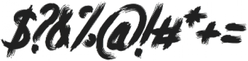 Atorak Typeface otf (400) Font OTHER CHARS