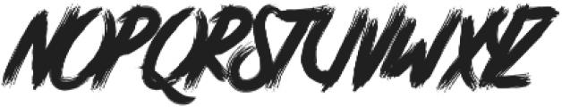 Atorak Typeface otf (400) Font UPPERCASE