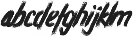 Atorak Typeface otf (400) Font LOWERCASE
