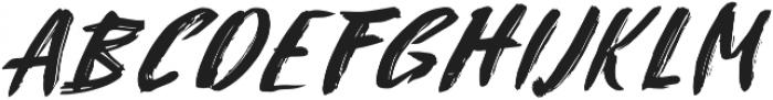 Attack ttf (400) Font UPPERCASE
