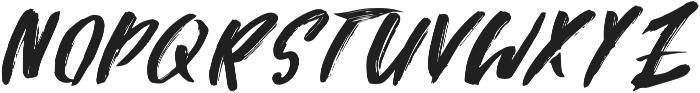 Attack ttf (400) Font LOWERCASE