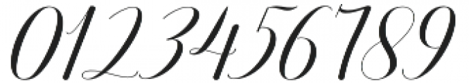 Attention Script Regular otf (400) Font OTHER CHARS