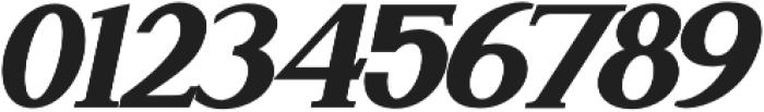 Attention Serif Slant Bold otf (700) Font OTHER CHARS