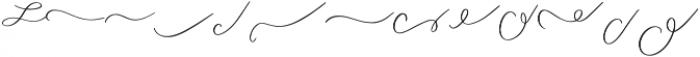 Attila Swashes ttf (400) Font UPPERCASE