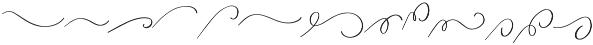 Attila Swashes ttf (400) Font LOWERCASE