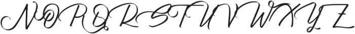 Atziluth Script otf (400) Font UPPERCASE