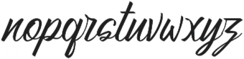 Atziluth Script otf (400) Font LOWERCASE