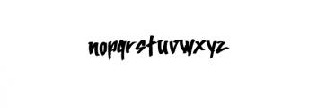 AtteThi.ttf Font LOWERCASE