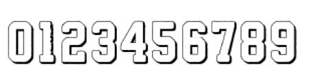 Athletico 3D Font OTHER CHARS
