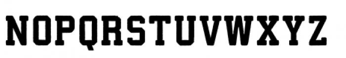 Athletico Black Font LOWERCASE