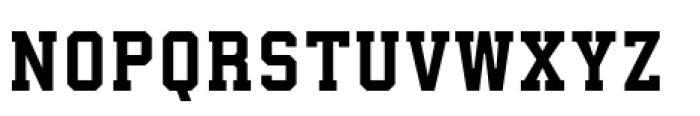 Athletico Clean Sharp Font LOWERCASE