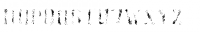 Athletico Dirt Font UPPERCASE