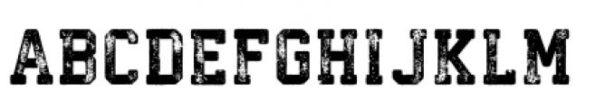 Athletico Regular Font UPPERCASE