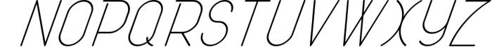 ATLAS clean modern sans typeface. 1 Font UPPERCASE