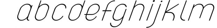 ATLAS clean modern sans typeface. 1 Font LOWERCASE