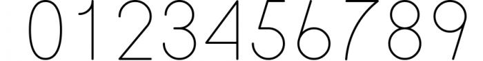 ATLAS clean modern sans typeface. Font OTHER CHARS