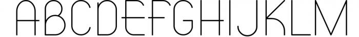 ATLAS clean modern sans typeface. Font UPPERCASE